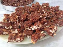 Caramelos del cacahuete Fotografía de archivo libre de regalías