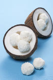 Caramelos del coco foto de archivo libre de regalías
