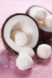 Caramelos del coco Fotografía de archivo