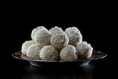 Caramelos del coco Imagen de archivo libre de regalías
