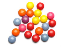Caramelos del color Foto de archivo