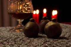 Caramelos del licor Foto de archivo