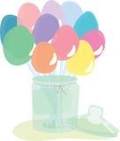 Caramelos del palillo libre illustration