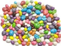 Caramelos dulces coloreados Fotos de archivo libres de regalías