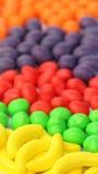 Caramelos duros de la fruta Fotos de archivo