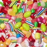 Caramelos en cierre para arriba Foto de archivo libre de regalías