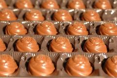 Caramelos en un rectángulo fotografía de archivo libre de regalías