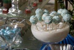Caramelos festivos para las huéspedes fotografía de archivo libre de regalías