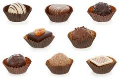 Caramelos gastrónomos del chocolate Imagen de archivo libre de regalías