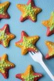 caramelos gomosos Estrella de mar-formados Imagenes de archivo