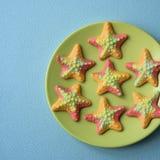 caramelos gomosos Estrella de mar-formados Fotografía de archivo libre de regalías