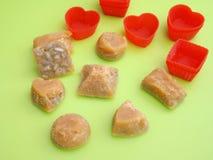 Caramelos hechos en casa Foto de archivo libre de regalías