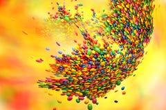 caramelos lindos Fotos de archivo libres de regalías
