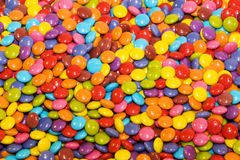 Caramelos multicolores Fotografía de archivo