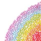 Caramelos multicolores Fotos de archivo