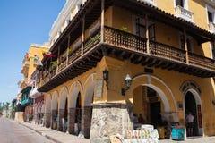 Caramelos porta en Cartagena de Indias Imagen de archivo