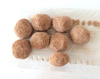 Caramelos redondos Imagenes de archivo