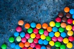 Caramelos redondos coloridos Imagenes de archivo