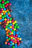 Caramelos redondos coloridos Fotos de archivo