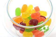 Caramelos suaves de la jalea Imagen de archivo libre de regalías