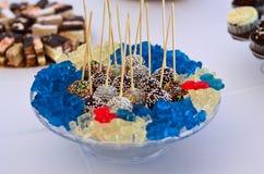 Caramelos y Haribo Fotos de archivo libres de regalías