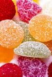 Caramelos y jaleas Foto de archivo libre de regalías