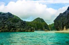 Caramoan, Philippinen stockbilder