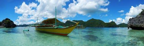 Caramoan wyspy plaża Obraz Stock