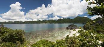 Caramoan wyspy plaża Obrazy Stock