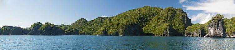 Caramoan wyspy plaża Zdjęcie Royalty Free