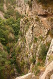 Carança canyon in Pyrenees Stock Photo