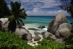 Carana Bay, Mahe, Seychelles Stock Images