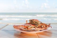 Caranguejo cozinhado Fotografia de Stock Royalty Free