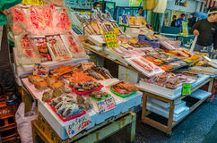 Caranguejos peludos japoneses (Taraba) Fotografia de Stock