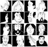 Caras Imágenes de archivo libres de regalías