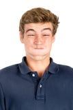 Caras adolescentes imágenes de archivo libres de regalías