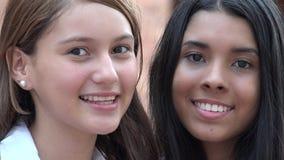 Caras bonitas sonrientes Fotos de archivo libres de regalías