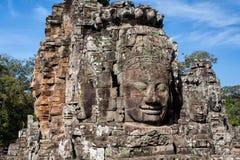 Caras de Angkor Thom - Camboya imagen de archivo libre de regalías
