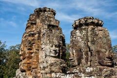 Caras de Angkor Thom - Camboya imagen de archivo