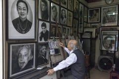 Caras de Hanoi fotografía de archivo