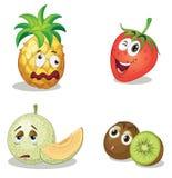 Caras de la fruta Fotografía de archivo libre de regalías