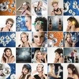 Caras de la gente Foto de archivo libre de regalías