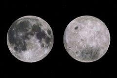 Caras de la Luna Llena ilustración del vector
