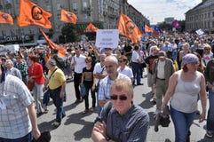 Caras de la revolución rusa Imagen de archivo libre de regalías