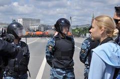 Caras de la revolución rusa Foto de archivo libre de regalías