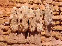 Caras de la roca foto de archivo libre de regalías