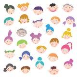 Caras de los cabritos Fotografía de archivo libre de regalías