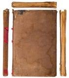 Caras del libro de la vendimia fijadas Foto de archivo libre de regalías