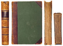 Caras del libro de la vendimia fijadas Fotos de archivo