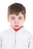 Caras del muchacho Foto de archivo libre de regalías